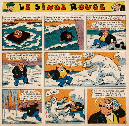 Pat épate 1949 - n°29 - Le Singe Rouge - 17 juillet 1949 - page 1