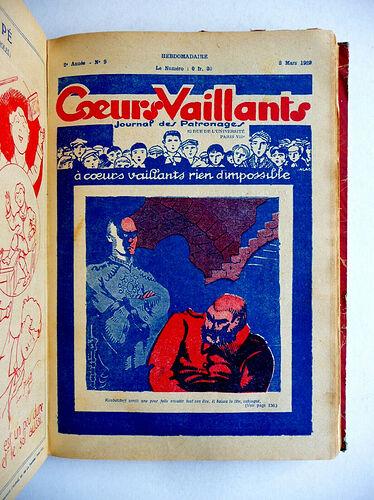 Reliure Coeurs Vaillants 1929 - du n°1 à 29 (6)