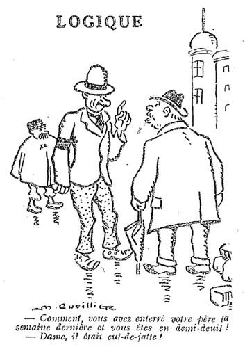 Le Pêle-Mêle 1928 - n°252 - page 10 - Logique - 16 décembre 1928