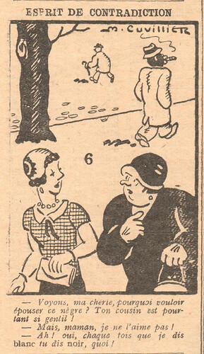 Le Pêle-Mêle 1929 - n°296 - Esprit de contradiction - 20 octobre 1929 - page 8