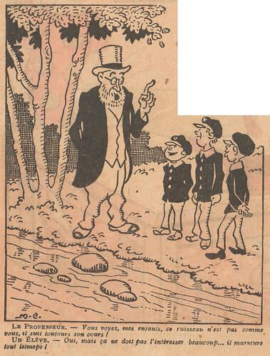 Le Pêle-Mêle 1926 - n°149 - page 2 - Vous voyez mes enfants ce ruisseau - 26 décembre 1926