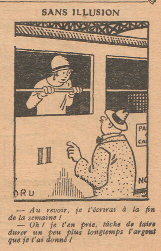 Le Pêle-Mêle 1927 - n°154 - page 9 - Sans illusion - 30 janvier 1927