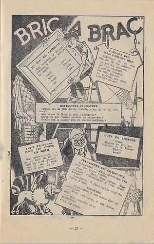 Almanach 1947 - Au rythme des saisons et des joies - page 27 - René Bonnet