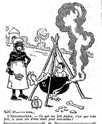 Le Pêle-Mêle 1927 - n°173 - page 18 - L'explorateur (G) - 12 juin 1927