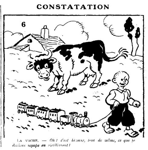 Le Pêle-Mêle 1929 - n°303 - Constatation - 8 décembre 1929 - page 6