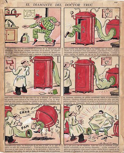 TBO 1937 - n°1041 - El diamante del doctor Truc - 16 juin 1937 - page 2