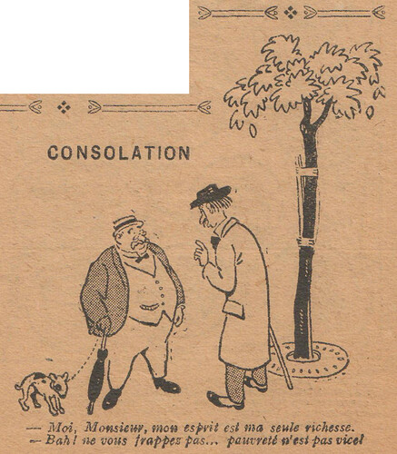 Le Pêle-Mêle 1927 - n°164 - page 7 - Consolation - 10 avril 1927