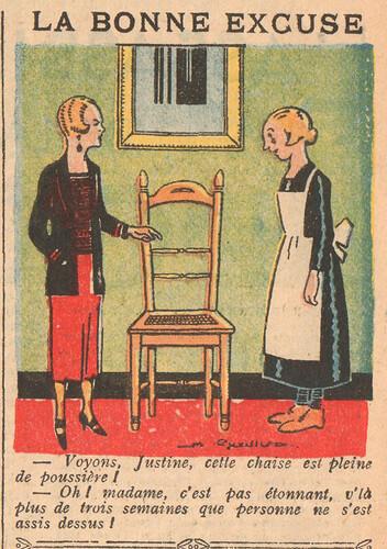 Le Pêle-Mêle 1925 - n°54 - page 11 - La bonne excuse - 1er mars 1925