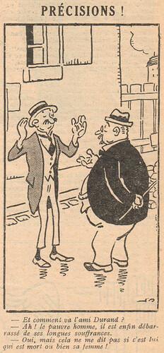 Le Pêle-Mêle 1929 - n°286 - Précisions - 11 août 1929 - page 12