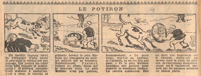Le Petit Illustré 1929 - n°1272 - page 14 - Le potiron - 24 février 1929