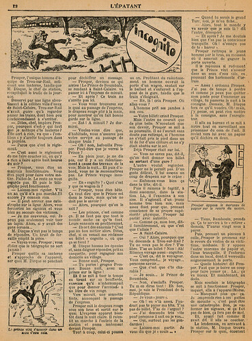 L'Epatant 1936 - n°1449 - Incognito - 7 mai 1936 - page 12