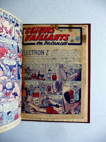 Reliure Coeurs Vaillants 1944 vendu en octobre 2020 (5)