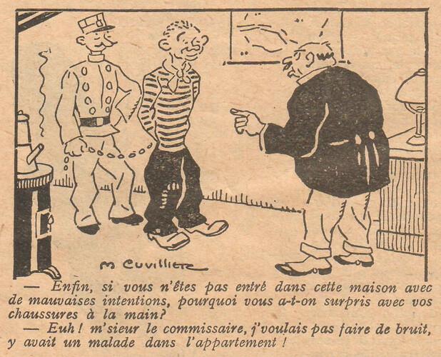 Le Pêle-Mêle 1928 - n°246 - page 6 - Enfin si vous n'êtes pas entré dans cette maison - 4 novembre 1928