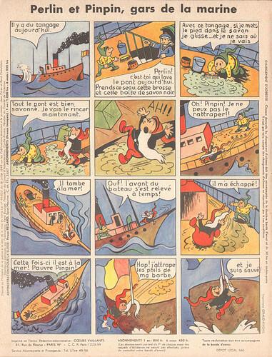 perlin et pinpin 1956 - n°9 - 16 décembre 1956 - page 8