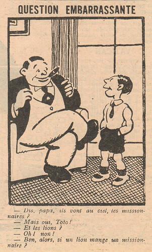 Le Pêle-Mêle 1929 - n°280 - Question embarrassante - 30 juin 1929 - page 5