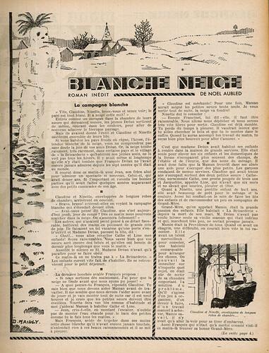 Ames Vaillantes 1937 - n°1 - 8 décembre 1937 - page 3