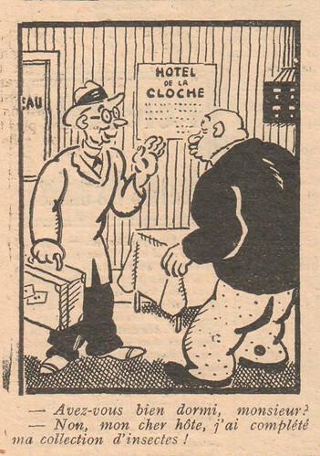Le Pêle-Mêle 1929 - n°275 - Avez-vous bien dormi monsieur - 26 mai 1929 - page 12
