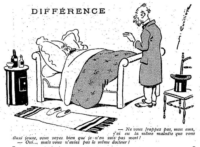 Le Pêle-Mêle 1925 - n°77 - page 3 - Différence (G) - 9 août 1925