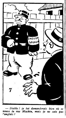 Le Pêle-Mêle 1929 - n°300 - Diable je lui demanderais bien où se trouve la ru Machin - 17 novembre 1929 - page 8
