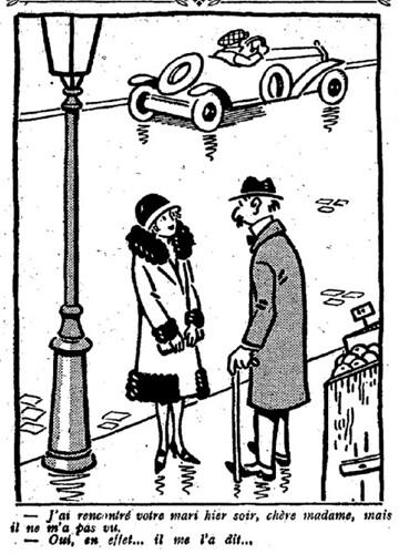 Le Pêle-Mêle 1926 - n°106 - page 7 - J'ai rencontré votre mari hier soir (G) - 28 février 1926