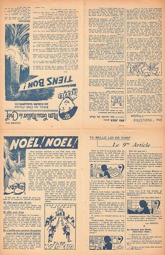 Bulletin des chefs d'équipe - Ames Vaillantes - Coeurs Vaillants  - décembre 1943 (1)