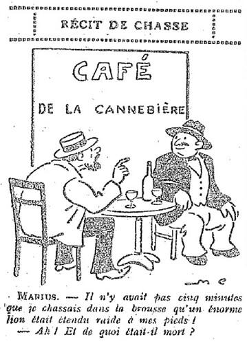 Le Pêle-Mêle 1927 - n°199 - page 10 - Récit de chasse (G) - 11 décembre 1927