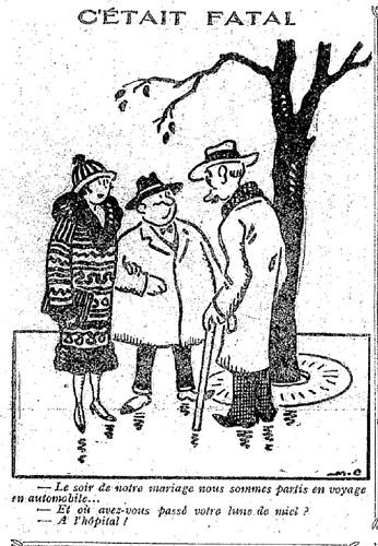 Le Pêle-Mêle 1927 - n°169 - page 7 - C'était fatal (G) - 15 mai 1927