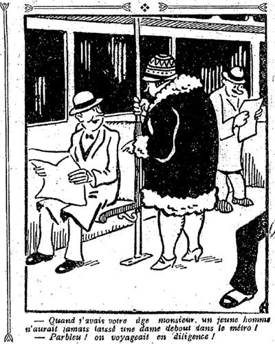 Le Pêle-Mêle 1927 - n°170 - page 9 - Quand j'avais votre âge monsieur (G) - 22 mai 1927