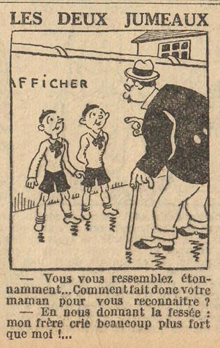 Le Petit Illustré 1929 - n°1311 - page 11 - Les deux jumeaux - 24 novembre 1929