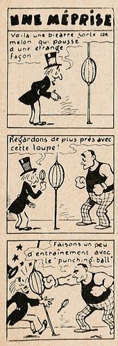 Pat épate 1949 - n°35 - Une méprise - 28 août 1949 - page 14