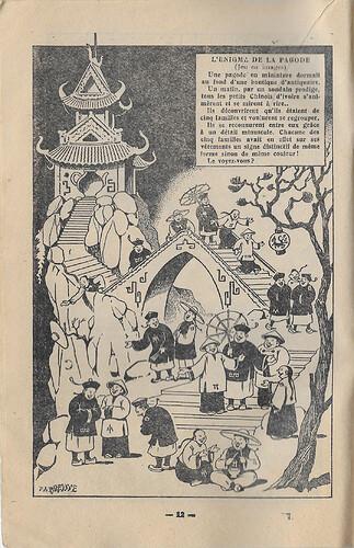 Almanach 1947 - Au rythme des saisons et des joies - page 12 - FA Breysse