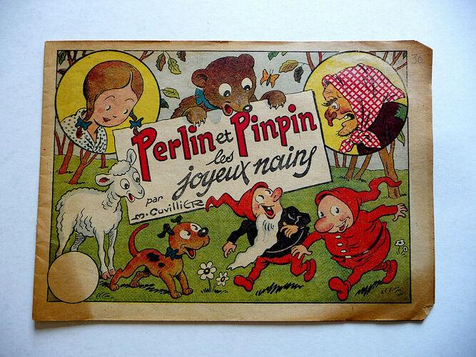 Album Perlin et Pinpin les joyeux nains de 1943 (1)