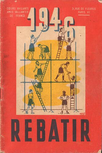 Almanach CV-AV 1946 - REBATIR - couverture