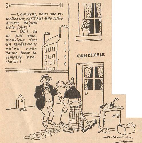 Le Pêle-Mêle 1925 - n°82 - page 9 - Comment vous me remettez au jourd'hui une lettre arrivée depuis trois jours - 13 septembre 1925