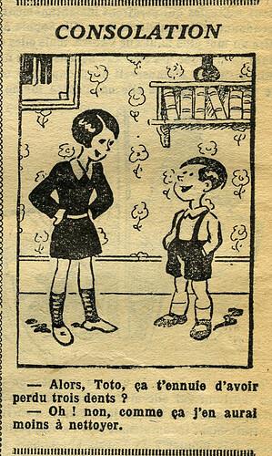 Fillette 1933 - n°1298 - page 4 - Consolation - 5 février 1933