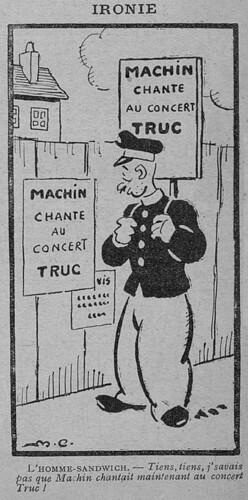 Le Pêle-Mêle 1930 - n°308 - Ironie - 12 janvier 1930 - page 10