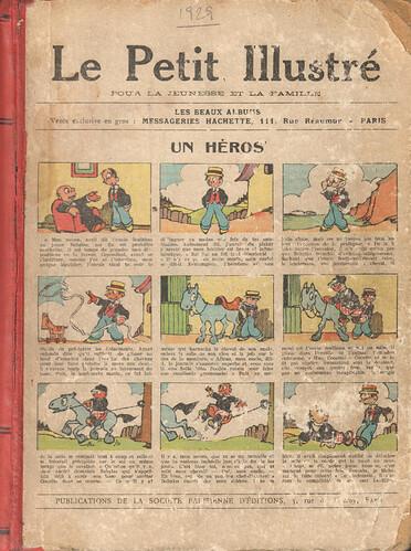 Le Petit Illustré 1929 - Album - Un héros - couverture