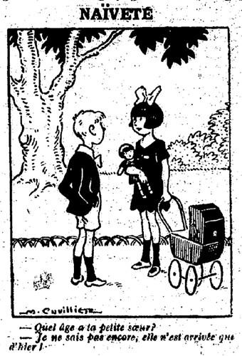 Le Pêle-Mêle 1926 - n°146 - page 11 - Naïveté (G) - 5 décembre 1926