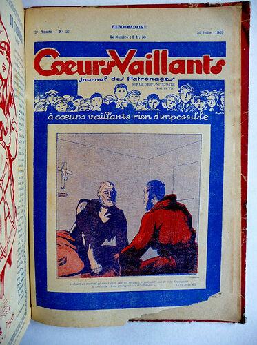 Reliure Coeurs Vaillants 1929 - du n°1 à 29 (4)