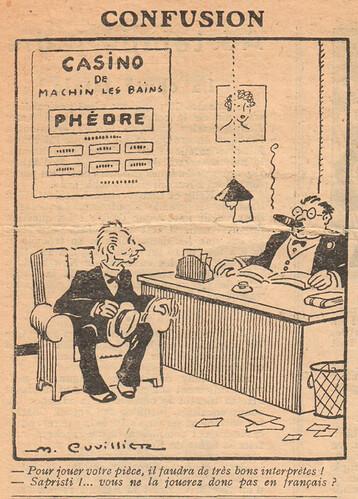 Le Pêle-Mêle 1929 - n°261 - Confusion - 17 février 1929 - page 10