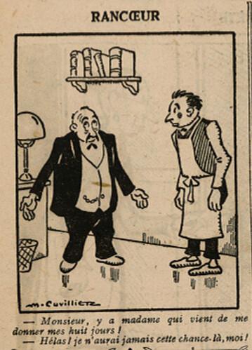 Le Pêle-Mêle 1927 - n°161 - page 10 - Rancoeur - 20 mars 1927