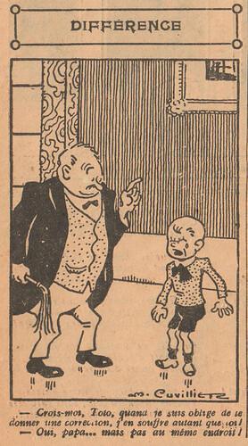 Le Pêle-Mêle 1927 - n°151 - page 10 - Différence - 9 janvier 1927