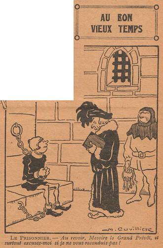 Le Pêle-Mêle 1928 - n°210 - page 7 - Au bon vieux temps - 26 février 1928