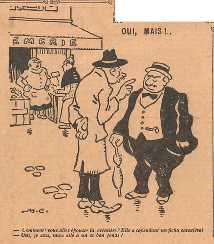 Le Pêle-Mêle 1926 - n°147 - page 10 - Oui mais - 12 décembre 1926