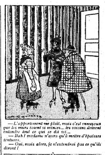 Le Pêle-Mêle 1926 - n°108 - page 11 - L'appartement me plaît (G) - 14 mars 1926