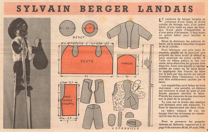 Fripounet et Marisette 1956 - n°35 - 26 août 1956 - Sylvain berger landais - page 9