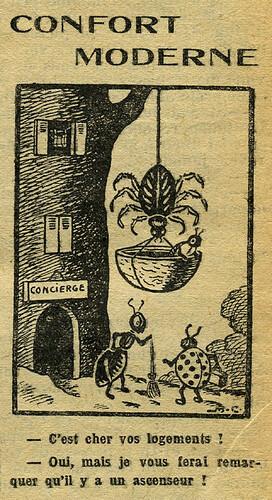 Fillette 1933 - n°1293 - page 6 - Confort moderne - 1er janvier 1933