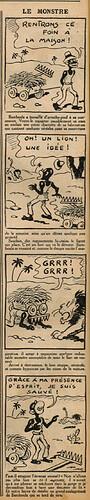 Le Petit Illustré 1936 - n°24 - Le monstre - 27 septembre 1936 - page 6