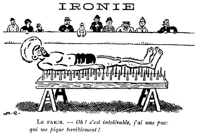 Le Pêle-Mêle 1929 - n°263 - Ironie - 3 mars 1929 - page 5