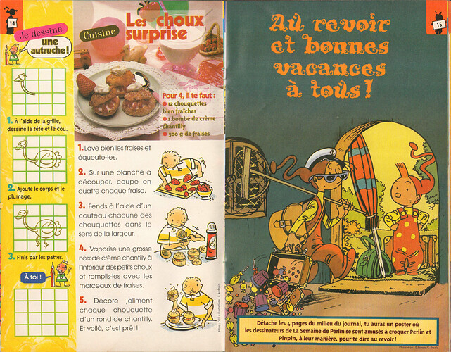 Semaine de Perlin - n°1122 - du 27 juin au 3 juillet 1998 - pages 14 et 15